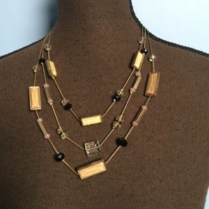 NY Signed Statement Necklace